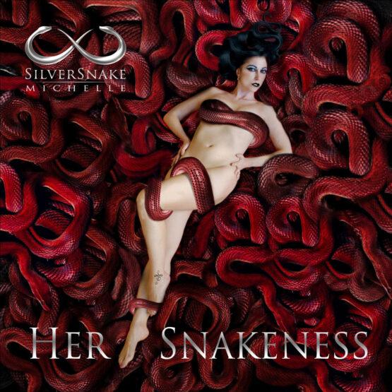 Silversnake Michelle Her Snakeness red snakes italian beauty